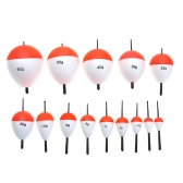 14Pcs Fishing Floats Fishing Accessory with Sticks