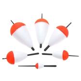 6pcs pesca galleggianti pesca accessorio con bastoni