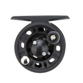 Plastic Fly Fish Reel Former Rafting Ice Fishing Vessel Wheel Fishing Gear Left/Right Interchangeable