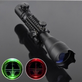 4-16 x 50 赤、緑は狩猟用 22 MM レール マウントとレチクル ライフル銃望遠照準器を点灯