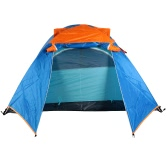 Acampar al aire libre impermeable de doble capa 2-3 personas Carpa con el bolso