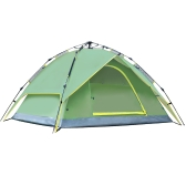 3-4 People Double Layers Waterproof Breathable Automatic Tent with Bag