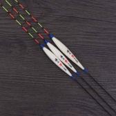 3pcs pesca galleggianti Bobbers Barr legno Fishing Tackle strumenti