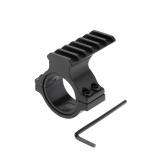 """Escopo barril 1""""/ 25mm e 30mm anel adaptador de montagem com o trilho de Picatinny 20mm Weaver"""