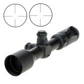 Visionking1.5-6X42XL iluminado rojo verde Mil-dot visor para la caza