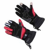 2pcs Scoyco pantalla táctil impermeable de invierno guantes motociclismo termal a prueba de viento