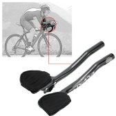 Second Hand Lixada Carbon Fiber Road Bike Bicycle Aero Bar Rest Handlebar Aerobar 31.8mm