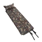 185 * 60 * 2,5 cm tarnen automatische aufblasbare selbstaufblasende feuchtdichtes Pad Matte Zelt Luftmatratze mit Kissen für Camping im Freien schlafen