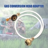 Second Hand Outdoor Camping Stove Use Household LPG Cylinder Gas Tank Conversion Head Adapter