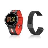 HB08 Smart colorato schermo braccialetto con cinturino magnetico in acciaio classico