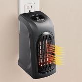 Portable Mini Calentador de aire eléctrico de mano Caliente Ventilador Fan ventilador de sala de calentador calentador de radiador para Oficina Inicio