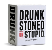Party Game Card-game for Friends Together DRUNK STONED OR STUPID More Players Better