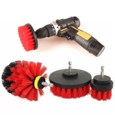 3pcs Drill Brush Set Cleaning Brush Tool Kit