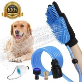 Pet Bathing Glove Tool Pet Shower Sprayer