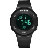 SYNOKE 9199 Sport Watch LED Cyfrowy zegarek Alarm Luminous Second Timing Waterproof Sport Band