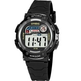 SYNOKE 9748 Criança Relógio Do Esporte Relógio Luminoso Alarme Digital À Prova D 'Água Relógio de Pulso kid Assista