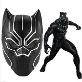 Superhero Figure Panther Mask Road Riding Mask Máscara de Cosplay