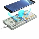 AW01 Qi Wireless Fast Charger Dollars Money Desktop Desktop