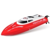 JJRC S1 Pentium 2.4GHz 2CH 25KM / h High SpeedMini RC Racing Boat RTR