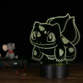 3D LED Schreibtischlampe Illusion bunte Tisch Nachtlicht