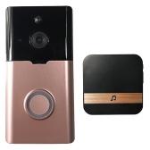 Telefone sem fio esperto da porta da visão nocturna do DoorBell da segurança de WiFi sem fio