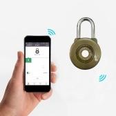 スマートBTの南京錠防水キーレスロックのアプリコントロール