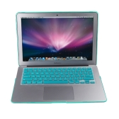 "Matte Hard Shell Case Keyboard Protector Cover for MacBook Air 13"" Tiffany Blue"