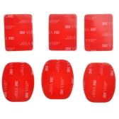 6pcs 3M Sticker Adhesive Pad Set for GoPro HD Hero 4 3+ 3 2 1 Camera Helmet Mount ST-14
