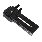 Tir de 2 voies Macro mise au point Focus Rail Slider pour Canon Nikon Sony Pentax appareil photo Olympus reflex