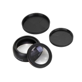 58MM 0.45x HD Wide Angle Lens with Macro Lens for Canon Nikon Sony Pentax 58MM Camera