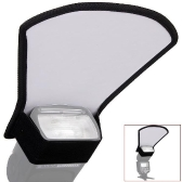 Universal Flash Diffuser Softbox Silver / White Reflector for Canon Nikon Pentax Yongnuo Speedlite