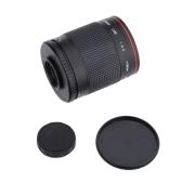 Kelda 500mm f/8.0 Tele Spiegel Objektiv mit T Halterung für Canon EOS 1D Mark IV III II 5D 7D 60D Nikon DSLR-Kamera