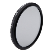 Andoer® 82mm ND Fader ND2 Neutral Density Regolabile a ND400 Filtro Variabile per Canon Nikon DSLR