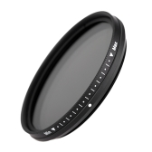 Fotga 52mm Slim Fader Variable ND Filter Adjustable Neutral Density ND2 to ND400