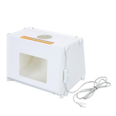 "SANOTO 12 Box ""x8"" Mini Portable Kit Foto Studio Fotografico Luce Softbox MK30 220V"