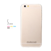 dodocool Ultra Thin Slim Clear Transparent Soft TPU Back Case Cover Skin Protective Shell for 4.7