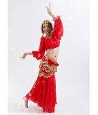 Tops Waist Link and Skirt for Belly Dance