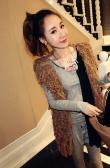 Kobiety Hollow frędzle kamizelka sweter z dzianiny