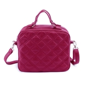 Moda Damska torba na ramię Torba PU Leather Check Pattern Torba Crossbody Torba Tote Dark Blue