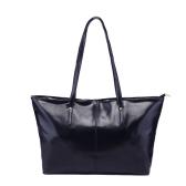 Neue Mode Frauen PU Leder Handtasche Farbe Tote Umhängetasche schwarz