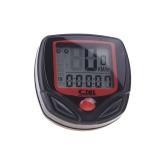 Sunding SD-546AE verdrahtet, dass Bike Cycle Fahrrad Computer Tacho Tachometer LCD-Hintergrundbeleuchtung 23 Funktionen