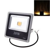 Ультратонких 20W 110-250В Светодиодные пятно света водонепроницаемый открытый наводнений лампа IP66 теплый белый