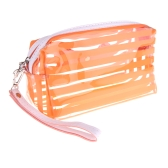 Jelly Cosmetic Make Up Bag Translucent Bath Sunbag Candy Color