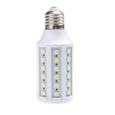 E27 220V LED mais Lampada lampadina luce 5050 SMD 12W 60 LED risparmio energetico a 360 gradi bianco caldo