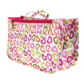Big Makeup Bag Cosmetic Multifuction Case Storage Case Travelling Container Pouch Handbag 15 Compartment