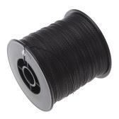 300M 100LB 0,55 mm pesca linea Strong PE intrecciato nero 4 fili