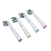 4pcs Soft Bristles EB-18A Rotary Electric Toothbrush Heads Replacement Oral Hygiene for Braun Oral-B