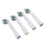 4pcs Soft setole EB-18A rotativo spazzolino elettrico testine ricambio igiene orale per Braun Oral-B