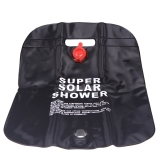 10L Camping Hiking Solar Heated Camp Shower Bag Outdoor Shower Water Bag