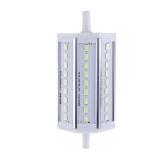 R7s 8W 27 LEDs 5630 SMD ahorro bombilla lámpara 118mm 100-240V blanco Reemplace reflector de halógeno